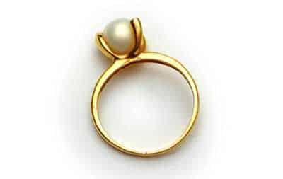 modelo de anel de ouro