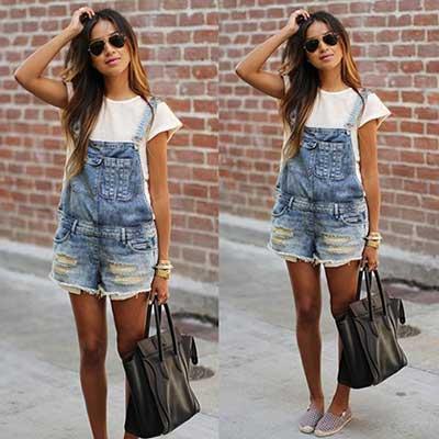 imagens de macaquinho jeans