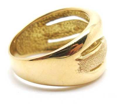 fotos de anéis de ouro