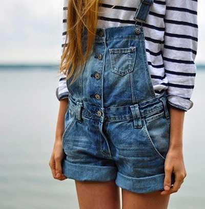 modelos de macaquinho jeans