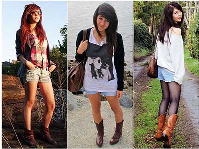 looks com botas texanas