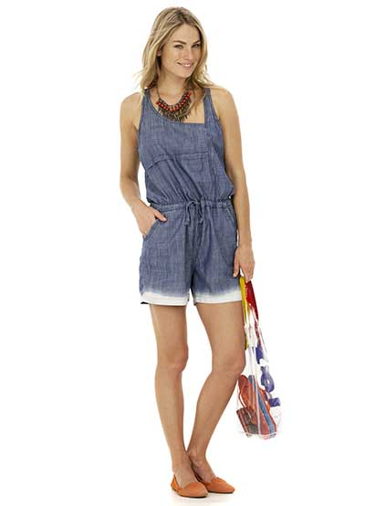 tendências de macaquinhos jeans