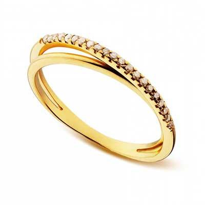 anéis de ouro para namorada
