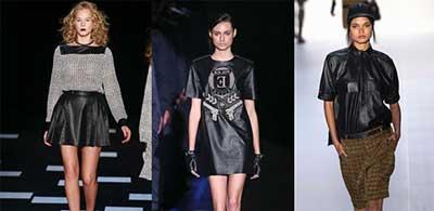 moda couro 2015