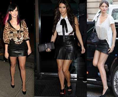 tendências da moda couro 2015