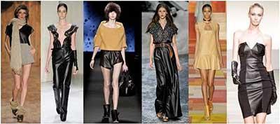 dicas da moda couro 2015