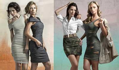 tendências de roupas femininas