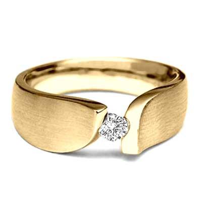 modelos de anel de ouro