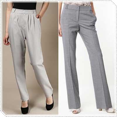 modelos de calças de alfaiataria