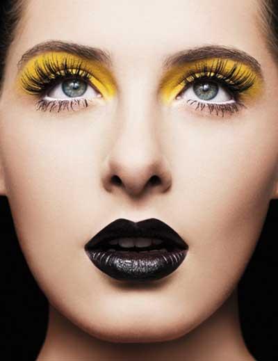 make com  olho amarelo