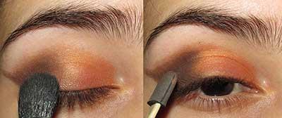 fotos de olho laranja