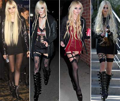 Fotos de roupas góticas