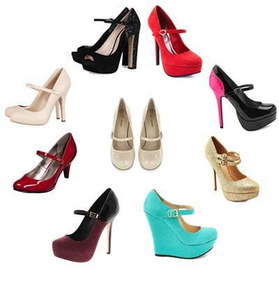 Modelos de Sapatos Mary Jane em Imagens