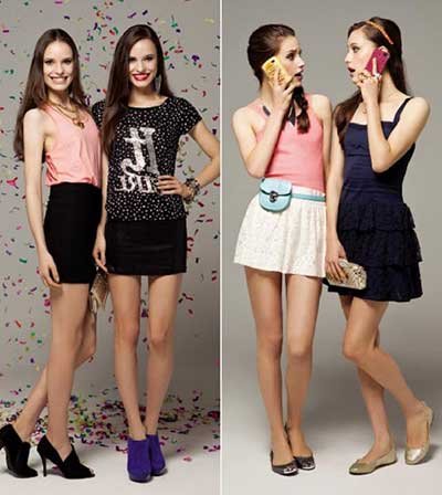 looks da moda teen