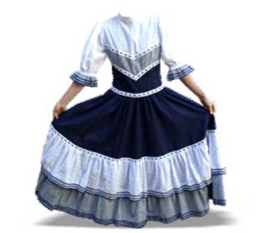 modelos de roupas gauchas