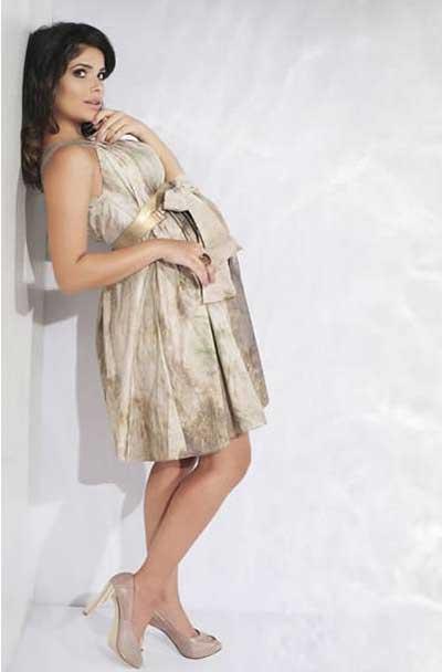 fotos de vestidos para gestantes