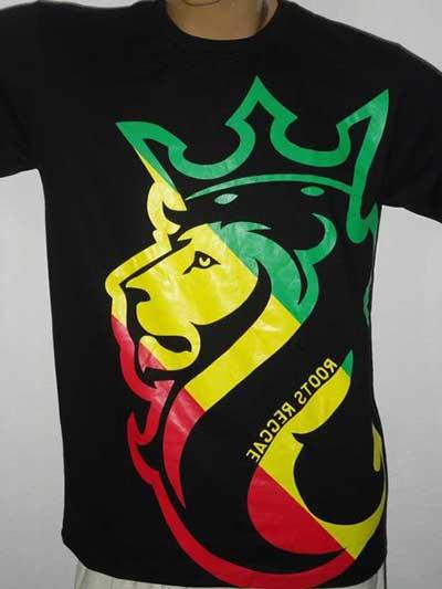 Modelos de Camisetas de Reggae