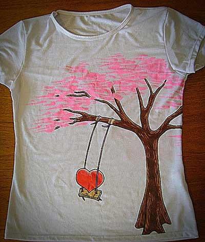 Imagens de camisetas alternativas