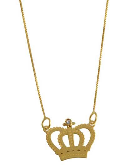 gargantilhas de ouro