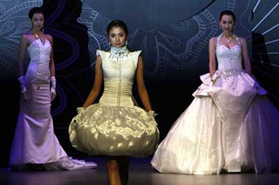 vestidos de noiva chinês