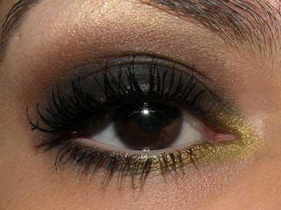fotos de olho amarelo