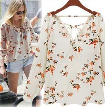 tendências de blusinhas da moda