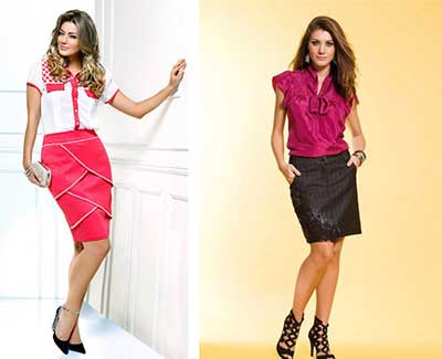 saias da moda 2015