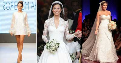 Fotos de Vestidos de Noiva das Famosas
