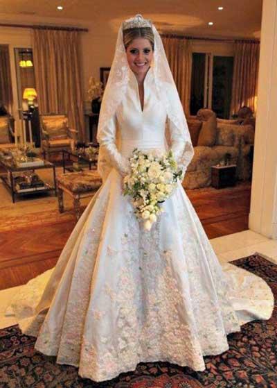 Imagens de Vestidos de Noiva das Famosas