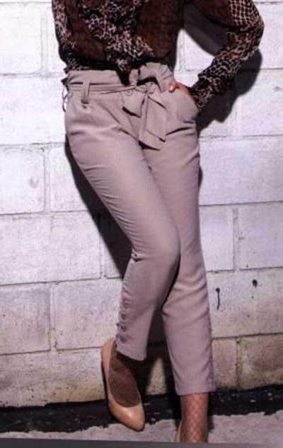calças de alfaiataria