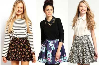 fotos e modelos de Skater Skirt