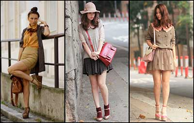 fotos da moda preppy