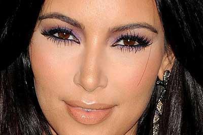 imagem de olho lilás