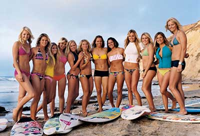 fotos de moda surf feminina