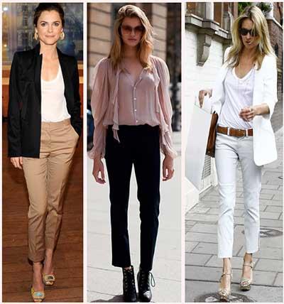 modelos de calças cropped