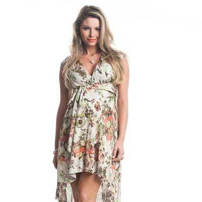 modelos de vestidos para grávidas