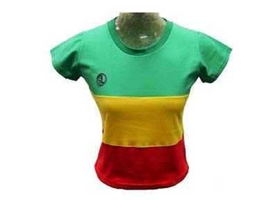 Camisetas de Reggae