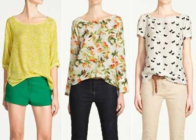 tendências de blusinhas femininas