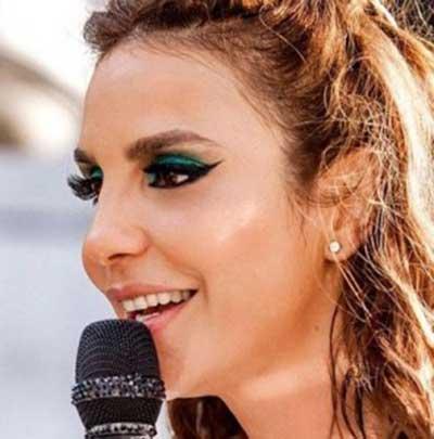 imagem de maquiagem verde
