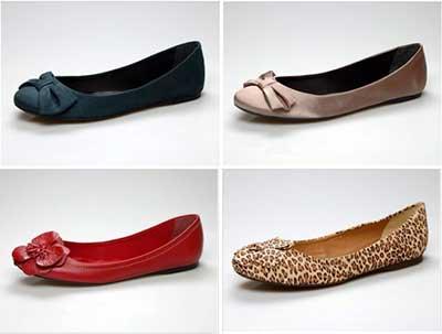 valor dos calçados