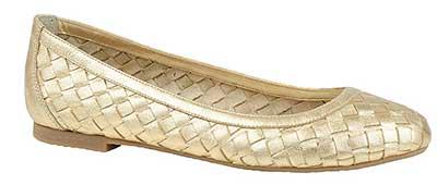dicas de sapatilhas douradas