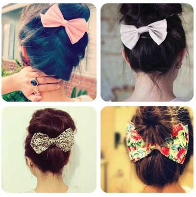 fotos de laços para cabelos