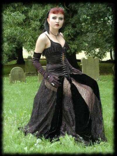 roupas góticas