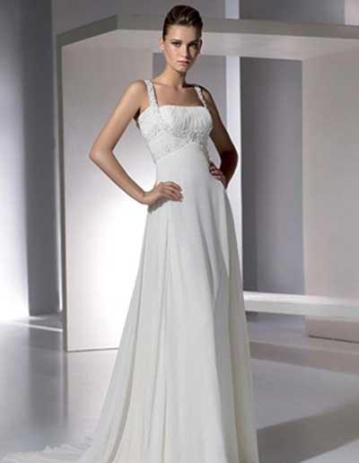 imagens de vestidos simples de noiva