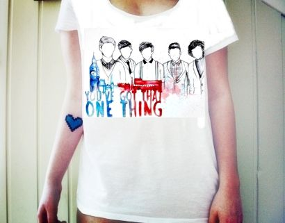 Modelos de Camisetas One Direction