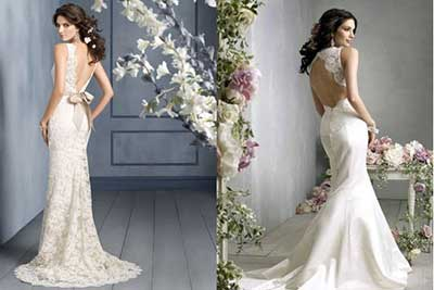imagens de vestidos de noiva 2015