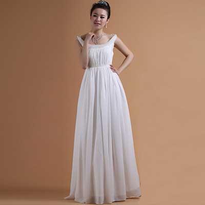 dicas de vestidos simples de noiva