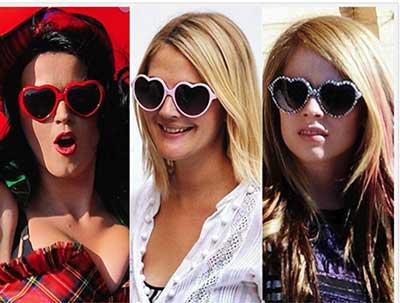 Imagens de óculos de coração