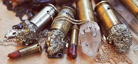 fotos de colares de pedras