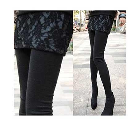 calça preta feminina